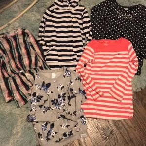 Carter's tunic shirts